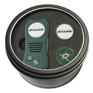 Dallas Stars Golf Tin Set - Switchblade, 2 Markers 13859