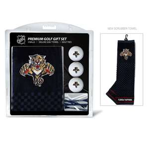 Florida Panthers Golf Embroidered Towel Gift Set 14120