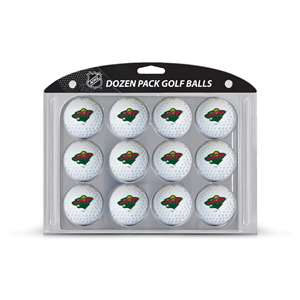 Minnesota Wild Golf Dozen Ball Pack 14303