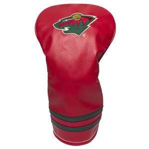 Minnesota Wild Golf Vintage Driver Headcover 14311