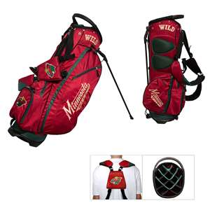 Minnesota Wild Golf Fairway Stand Bag 14328