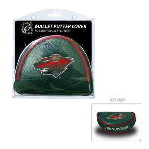 Minnesota Wild Golf Mallet Putter Cover 14331
