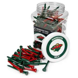 Minnesota Wild Golf 175 Tee Jar 14351