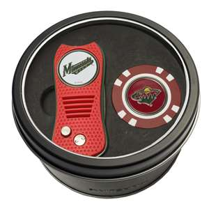 Minnesota Wild Golf Tin Set - Switchblade, Golf Chip