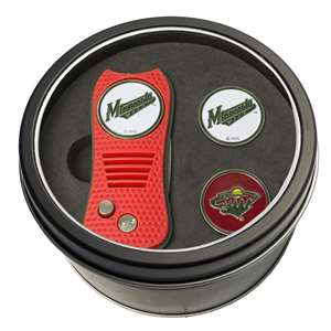 Minnesota Wild Golf Tin Set - Switchblade, 2 Markers 14359