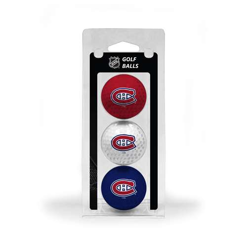 Montreal Canadiens Golf 3 Ball Pack 14405