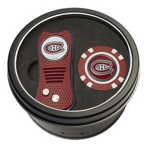 Montreal Canadiens Golf Tin Set - Switchblade, Golf Chip