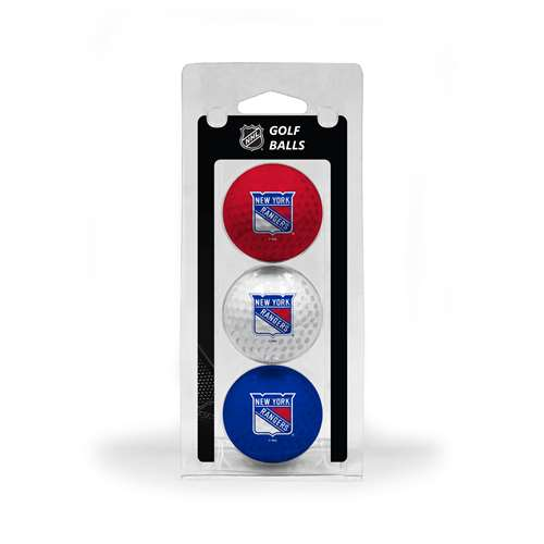 New York Rangers Golf 3 Ball Pack 14805