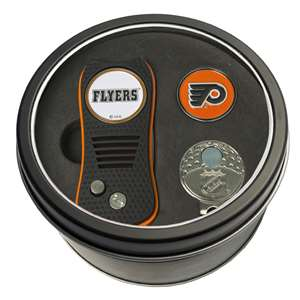 Philadelphia Flyers Golf Tin Set - Switchblade, Cap Clip, Marker 15057