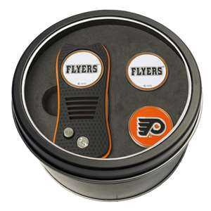 Philadelphia Flyers Golf Tin Set - Switchblade, 2 Markers 15059
