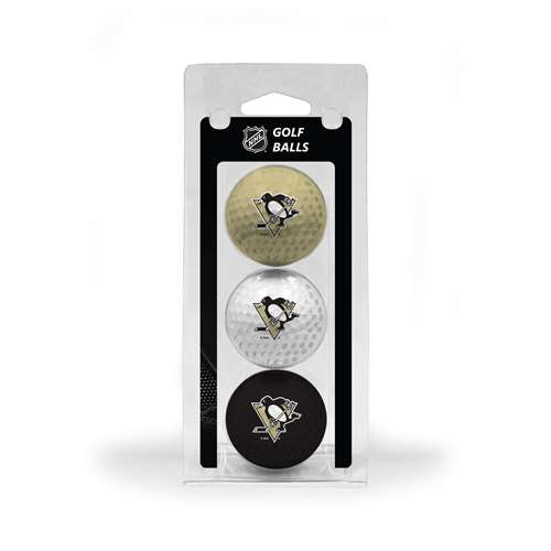 Pittsburgh Penguins Golf 3 Ball Pack 15205