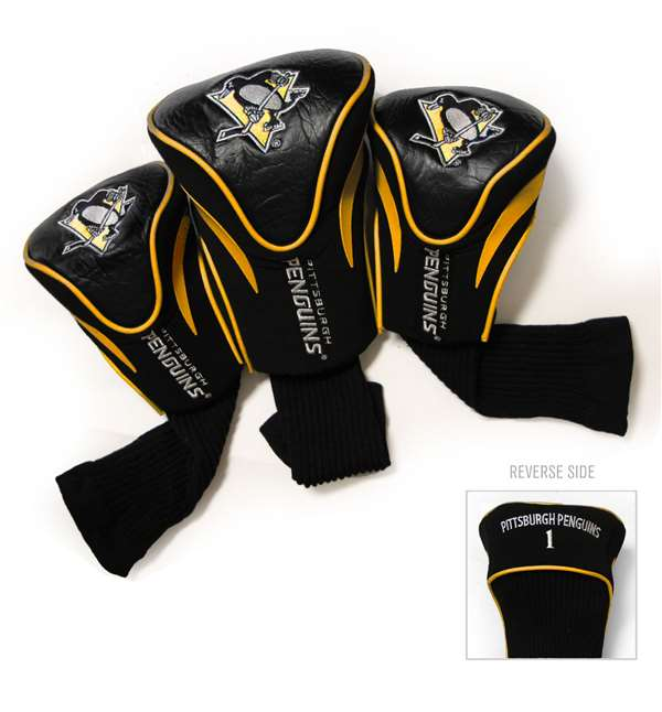Pittsburgh Penguins Golf 3 Pack Contour Headcover 15294