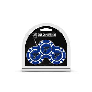 St. Louis Blues Golf 3 Pack Golf Chip 15488
