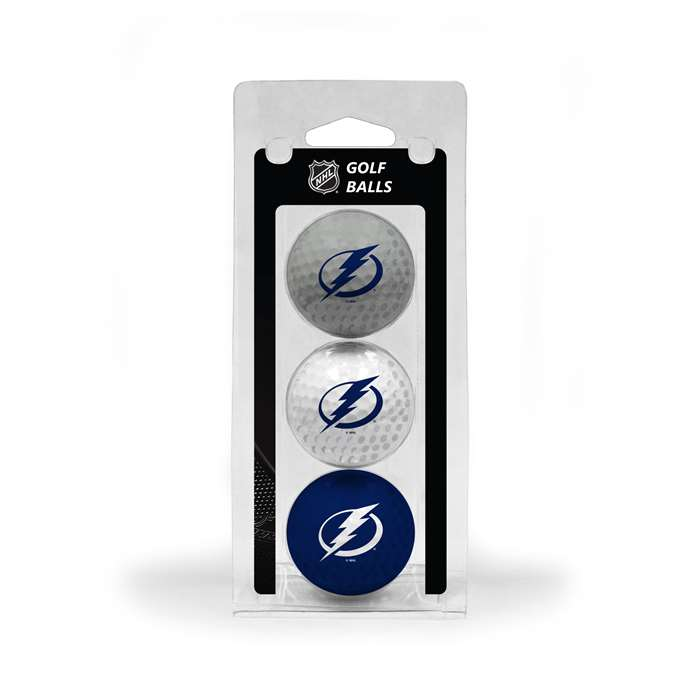 Tampa Bay Lightning Golf 3 Ball Pack 15505