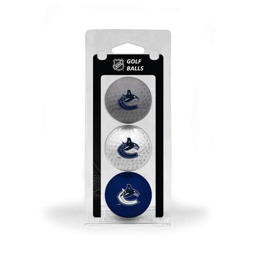 Vancouver Canucks Golf 3 Ball Pack 15705