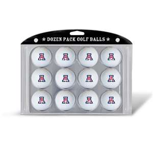 University of Arizona Wildcats Golf Dozen Ball Pack 20203