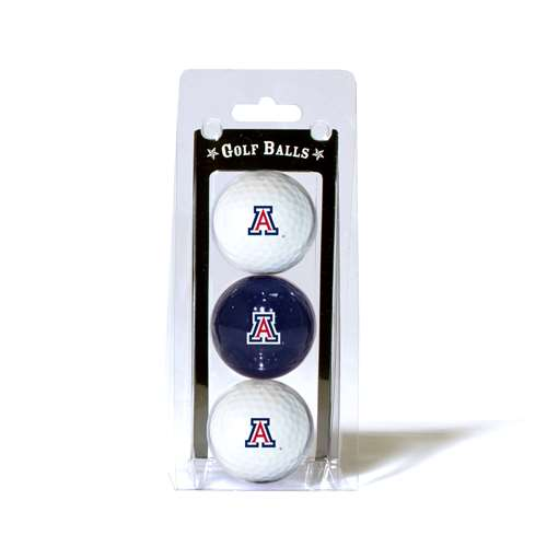 University of Arizona Wildcats Golf 3 Ball Pack 20205