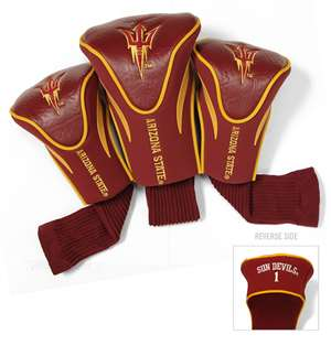 Arizona State University Sun Devils Golf 3 Pack Contour Headcover 20394