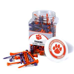 Clemson University Tigers Golf 175 Tee Jar 20651