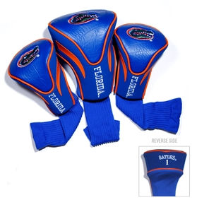 University of Florida Gators Golf 3 Pack Contour Headcover