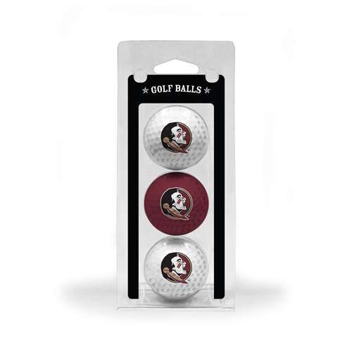 Florida State University Seminoles Golf 3 Ball Pack 21005
