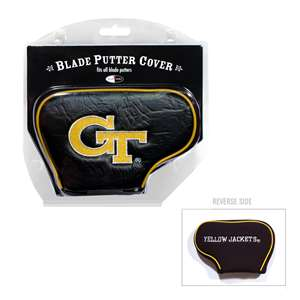 Georgia Tech Yellow Jackets Golf Blade Putter Cover