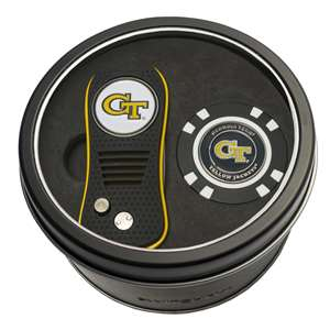 Georgia Tech Yellow Jackets Golf Tin Set - Switchblade, Golf Chip