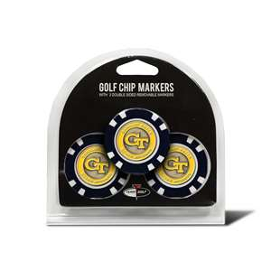 Georgia Tech Yellow Jackets Golf 3 Pack Golf Chip 21288