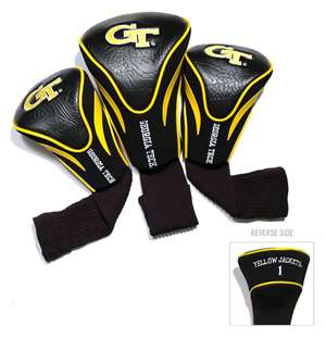 Georgia Tech Yellow Jackets Golf 3 Pack Contour Headcover 21294
