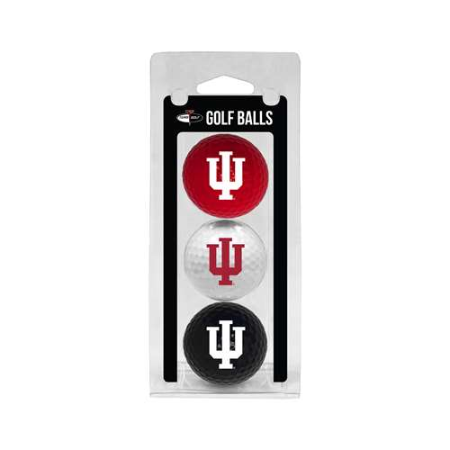 Indiana University Hoosiers Golf 3 Ball Pack 21405