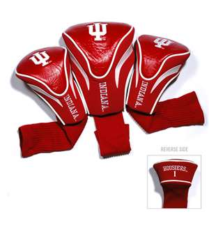 Indiana University Hoosiers Golf 3 Pack Contour Headcover 21494