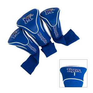 Memphis University Tigers Golf 3 Pack Contour Headcover 21694