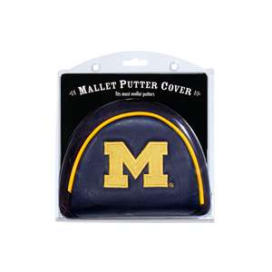University of Michigan Wolverines Golf Mallet Putter Cover