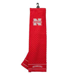 University of Nebraska Corn Huskers Golf Embroidered Towel 22410