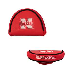 University of Nebraska Corn Huskers Golf Mallet Putter Cover 22431