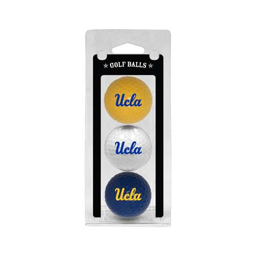 UCLA Bruins Golf 3 Ball Pack 23505