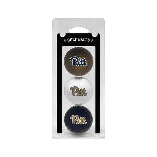 University of Pittsburgh Panthers Golf 3 Ball Pack 23705