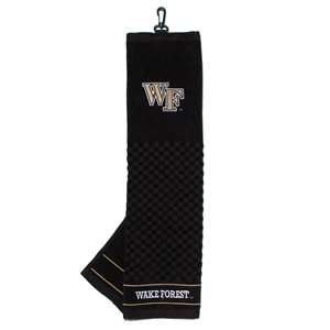 Wake Forest University Demon Deacons Golf Embroidered Towel 23810