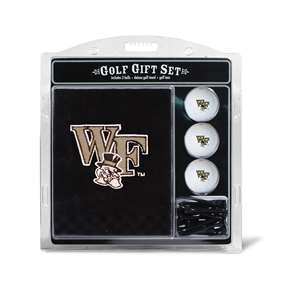 Wake Forest University Demon Deacons Golf Embroidered Towel Gift Set 23820