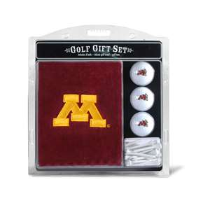 University of Minnesota Golden Gophers Golf Embroidered Towel Gift Set