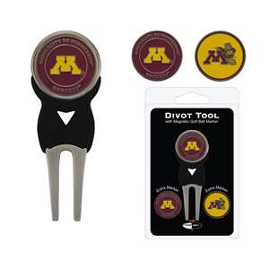 University of Minnesota Golden Gophers Golf Signature Divot Tool Pack  24345