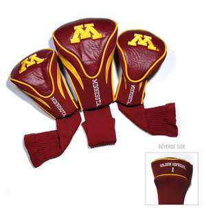 University of Minnesota Golden Gophers Golf 3 Pack Contour Headcover 24394