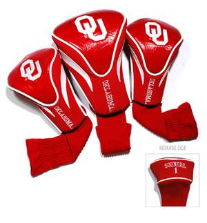 University of Oklahoma Sooners Golf 3 Pack Contour Headcover 24494