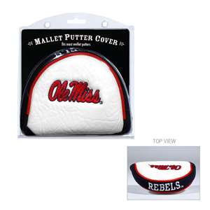 University of Mississippi Ole Miss Rebels Golf Mallet Putter Cover 24731