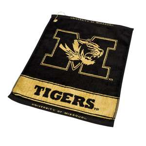 Missouri Tigers  Jacquard Woven Golf Towel