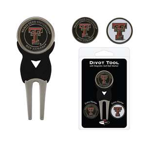 Texas Tech Red Raiders Golf Signature Divot Tool Pack  25145