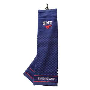 SMU Southern Methodist University Mustangs Golf Embroidered Towel 25210