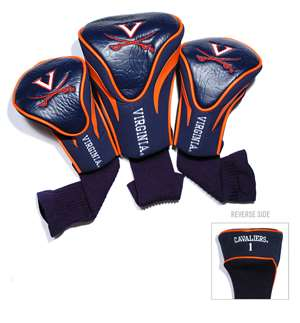 University of Virginia Cavaliers Golf 3 Pack Contour Headcover 25494
