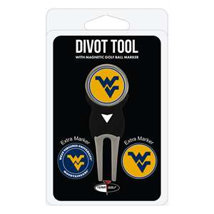 University of West Virginia Mountaineers Golf Signature Divot Tool Pack  25645