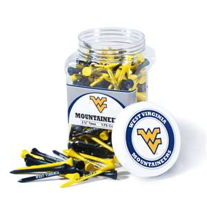 University of West Virginia Mountaineers Golf 175 Tee Jar 25651